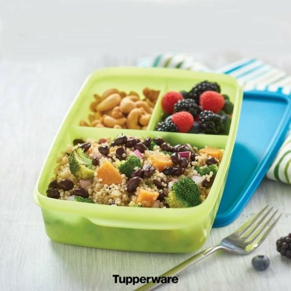 Tupperware Large Lunch-It Storage Container New
